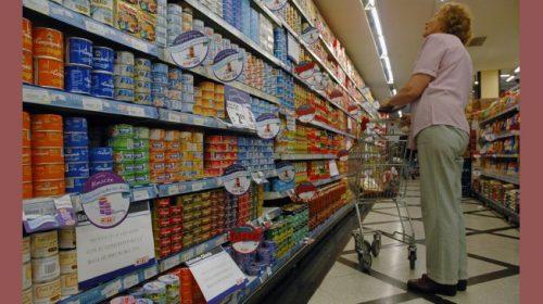 En sólo seis meses, los alimentos aumentaron un 23%