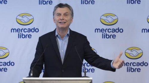 """Para Macri, las compras online son """"fundamentales"""" para llegar a la 'pobreza cero'"""