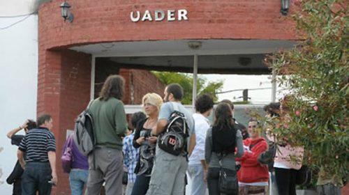 El 2 de diciembre elegirán nuevo rector en la UADER