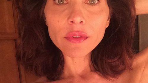 La impactante foto de actriz entrerriana sobre su lucha contra el cáncer