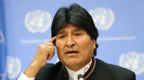 """Evo Morales reclamó a Trump que pida """"perdón"""" por los golpes de Estado que EEUU promovió en la región"""