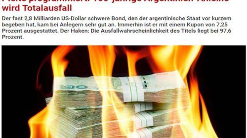 En Alemania especulan que el bono a 100 años irá directo a un default