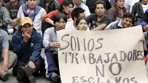 Medios internacionales advierten que Argentina aún tiene trabajo esclavo