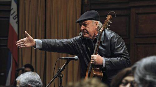 Falleció Daniel Viglietti, una de las máximas figuras de la música popular uruguaya