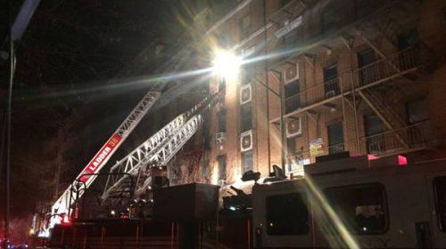 Al menos 12 muertos en un incendio en Nueva York