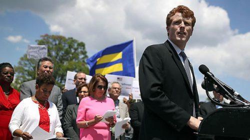 Los demócratas encontraron a un Kennedy para oponerse a Trump