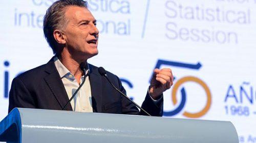 """Macri dijo que el Indec """"ahora es confiable"""" y que """"la pobreza empezó a bajar"""""""