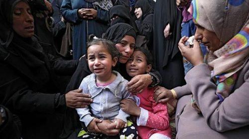 Palestinos entierran a sus muertos tras el día más sangriento en años