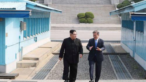 Histórico: Los líderes de ambas Coreas prometieron el fin de la guerra y la desnuclaerización