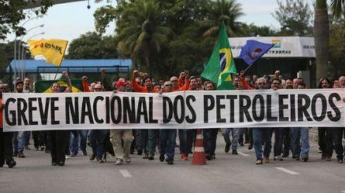 Petroleros de Brasil entran en segundo día de huelga