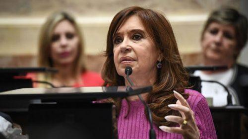 Cristina pidió eliminar una expresión del acuerdo con el Fondo Monetario