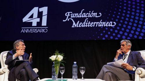 Macri admitió que la economía ya entró en recesión