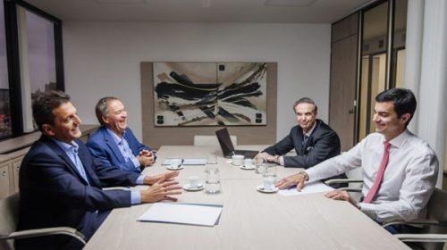 Massa, Urtubey, Pichetto y Schiaretti crean un grupo político para el 2019