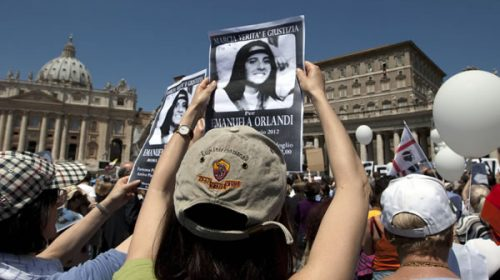 El Vaticano encuentra huesos que podrían ser de Emanuela Orlandi