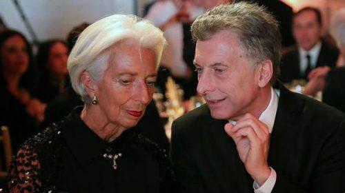 El FMI se reunirá con Macri y Dujovne y anunciaría un nuevo desembolso de dólares