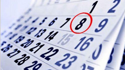 Calendario 2019 ¿el 8 de julio es feriado puente?
